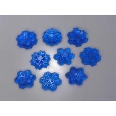 Пластиковая форма для шоколада Снежный вихрь