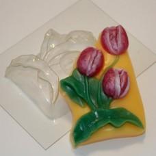 Пластиковая форма Тюльпаны