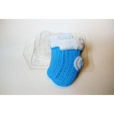 Пластиковая форма Вязаные носочки