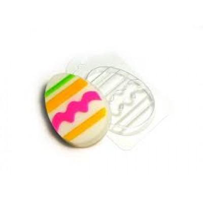 "Пластиковая форма ""Яйцо с узором №1"""