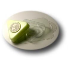 Пластиковая глю-база для мыла Треугольник-круг