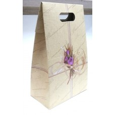 Подарочная коробка с ручками