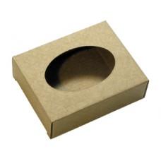 Подарочная коробочка для мыла картонная Овал