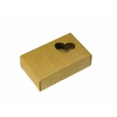 Подарочная коробочка для мыла картонная Сердечко