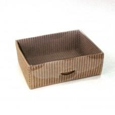 Подарочная коробочка МГКП-06 из гофро-картона 10,5 см х 8 см