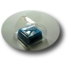 Подарочная упаковка для мыла пластиковая ПП1-004