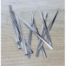 Прутик-скрутик для пакета Серебро, 10 штук