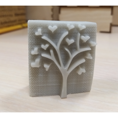 Штамп пластмассовый для мыла Дерево