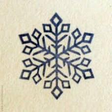 """Штамп для мыла силиконовый """"Снежинка 4"""""""