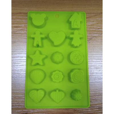 Силиконовая форма для льда и шоколада 15 ячеек