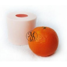 Силиконовая форма Мандарин неочищенный (апельсин)