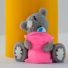 Силиконовая форма Тедди с подушкой 3Д