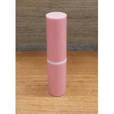 Туба для помады Розовая с белой полоской, 5 мл