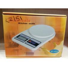 Весы кухонные с точностью 5000 г/1 г без чаши