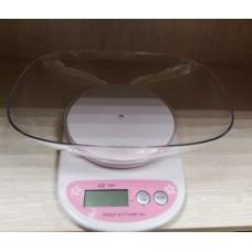 Весы кухонные с точностью 5000 г/1 г с чашей