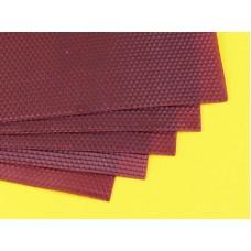Вощина натуральная цвет Фиолетовая 40 * 27 см
