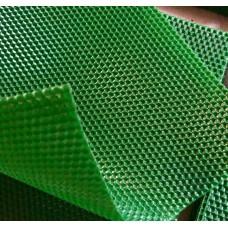 Вощина натуральная цвет Зеленая 40 * 27 см